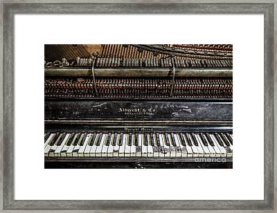 Albrecht Company Piano Framed Print