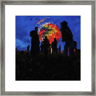 Albuquerque International Balloon Fiesta 251 1 Framed Print by Mawra Tahreem