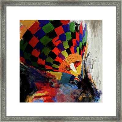 Albuquerque International Balloon Fiesta 254 1 Framed Print by Mawra Tahreem