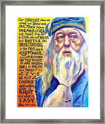 Albus Framed Print