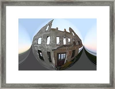 Alca Spherical Framed Print by Holly Ethan