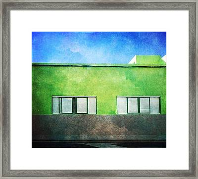 Framed Print featuring the photograph Alcala Green House No1 by Anne Kotan