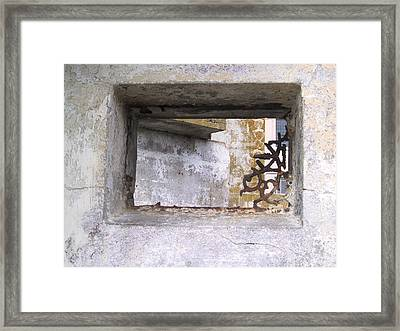 Framed Print featuring the photograph Alcatraz 2 by Kevin Callahan