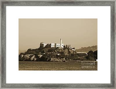 Alcatraz Framed Print by Denise Pohl