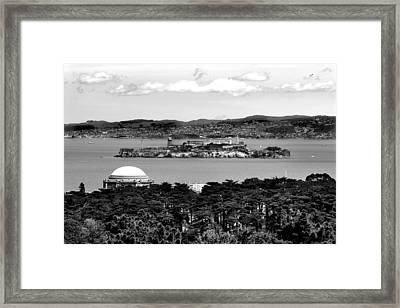 Alcatraz Framed Print by Greg Fortier