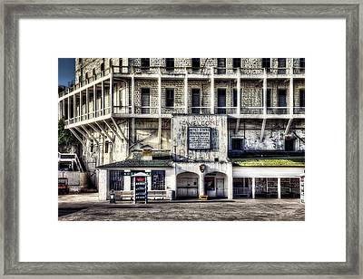Alcatraz Island Building 64 Framed Print by Jennifer Rondinelli Reilly - Fine Art Photography