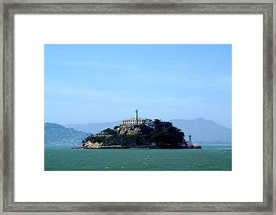 Alcatraz Island Framed Print by Sonja Anderson
