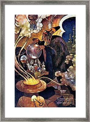 Alchemist 1912 Framed Print by Padre Art