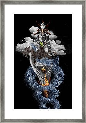 Alchemy 3 Framed Print by Alma
