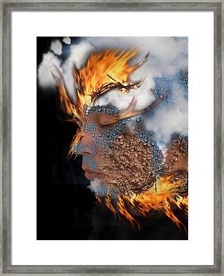 Alchemy 7 Framed Print by Alma