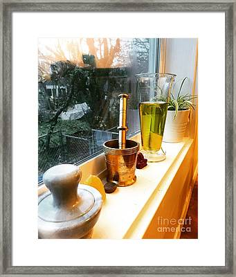 Alchemy And Oils Framed Print