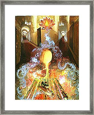 Alchemy Framed Print by Anne Cameron Cutri