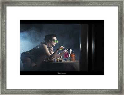 Alchemy Framed Print by Anton Tokarev
