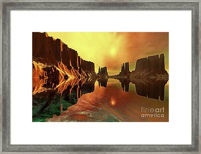 Alchemy Framed Print by Corey Ford