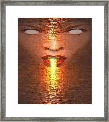 Alchemy1 Framed Print by Alma