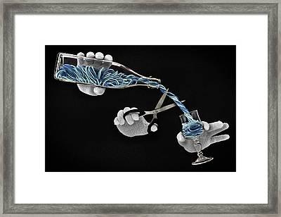 Alcohol-free Framed Print