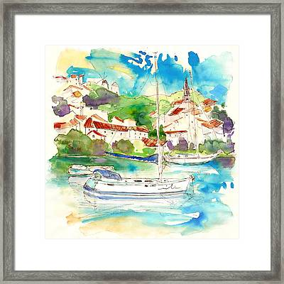 Alcoutim In Portugal 01 Framed Print by Miki De Goodaboom