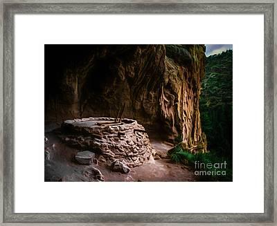 Alcove House Framed Print by Jon Burch Photography