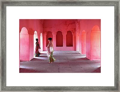 Alcoves Framed Print