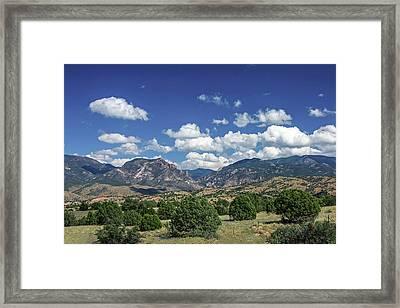 Aldo Leopold Wilderness, New Mexico Framed Print