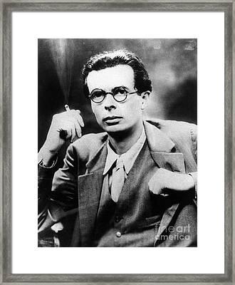 Aldous Huxley (1894-1963) Framed Print by Granger