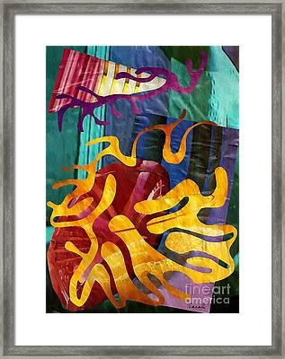 Alegria Framed Print by Sarah Loft