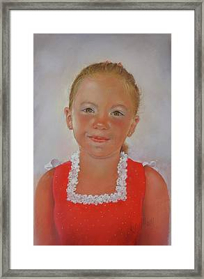 Alejandra Framed Print by Margaret Merry