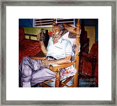 Alejandro  Framed Print