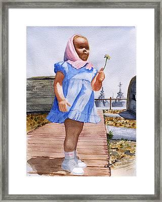 Alene June 14 1949 Framed Print by Robert Thomaston