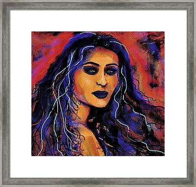 Alessandra Framed Print