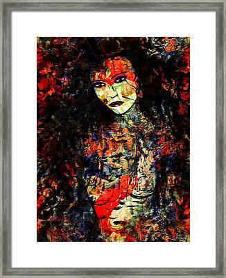 Alessia Framed Print by Natalie Holland