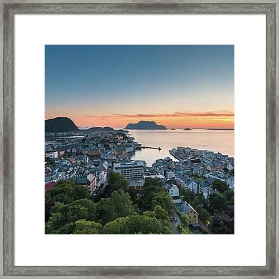 Alesund 01 Framed Print by Tom Uhlenberg