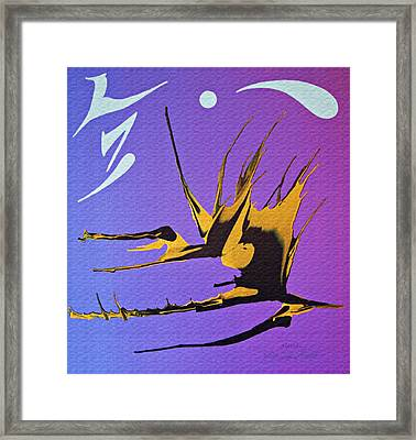 Framed Print featuring the painting Alethia by Robert G Kernodle