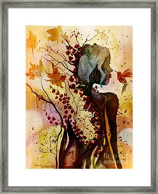 Alex In Wonderland Framed Print