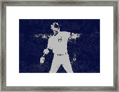 Alex Rodriguez 3a Framed Print by Brian Reaves