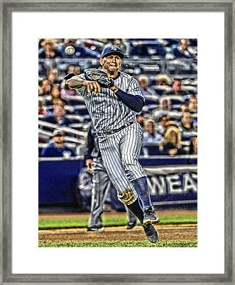 Alex Rodriguez New York Yankees Art 2 Framed Print