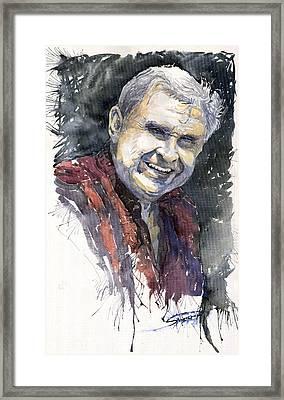 Alex Framed Print by Yuriy  Shevchuk