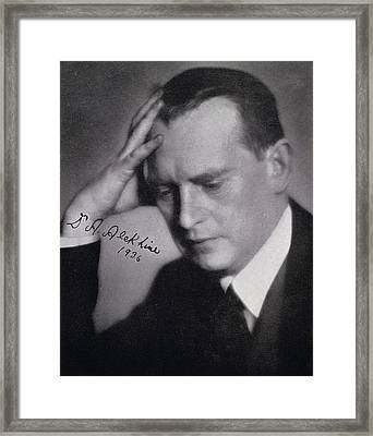 Alexander Alexandrovich Alekhine Also Framed Print