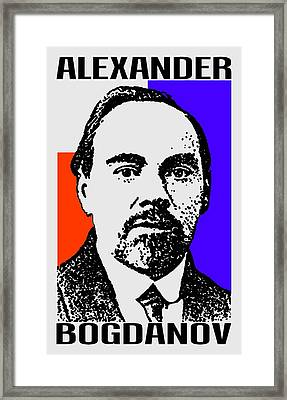 Alexander Bogdanov Framed Print