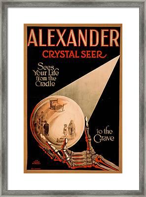 Alexander Crystal Seer 2 Framed Print by David Wagner
