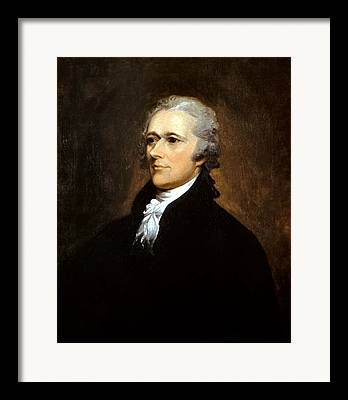 Statesman Paintings Framed Prints