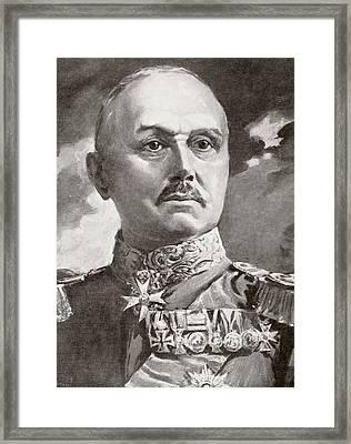 Alexander Heinrich Rudolph Von Kluck Framed Print