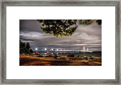 Framed Print featuring the photograph State Park Entrance by Onyonet  Photo Studios