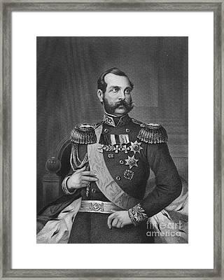 Alexander II (1818-1881) Framed Print by Granger