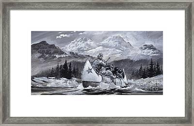 Alexander Mackenzie Framed Print by Graham Coton