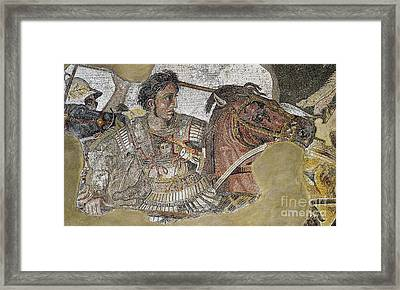 Alexander The Great Framed Print by Celestial Images