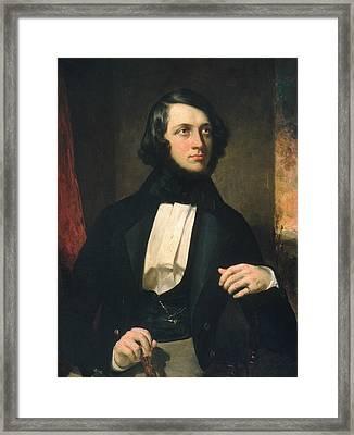 Alexander Van Rensselaer Framed Print by George Peter Alexander Healy