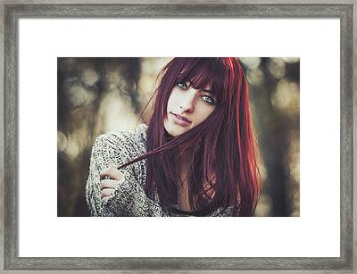 Alexandra Framed Print by Arnold Eszenyi