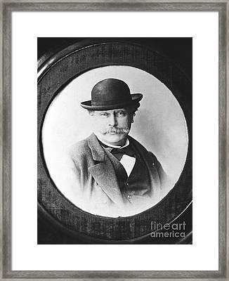 Alexandre Dumas (1824-1895) Framed Print by Granger