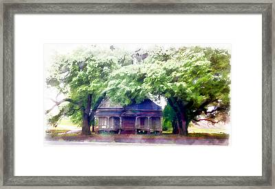 Alexandria House Framed Print